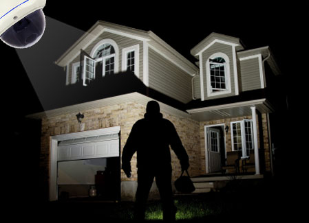 Baltimore, MD residential Home security Camera System Installation